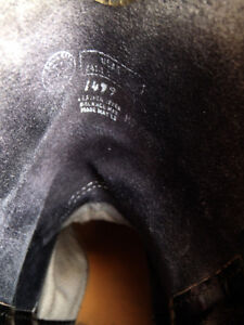 EUC Mens Black Leather Western Boots Williams Lake Cariboo Area image 5