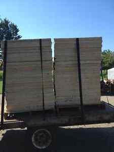morceaux de plywood 3/4 ou7/8