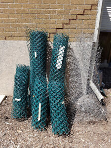 Flexible Fencing - Green Plastic, Wire/Chicken Wire Rolls