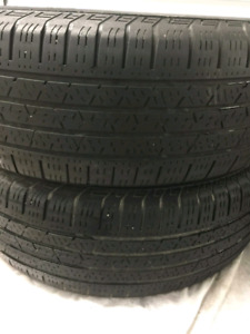 235/65r17 Continental cross contact