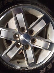 17 inch GMC rims and tires