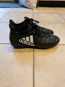 Girls Adidas cleats and Shin pads $40 takes both