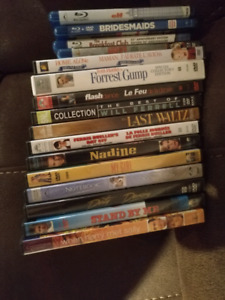 DVD, Blue Ray's and VHS