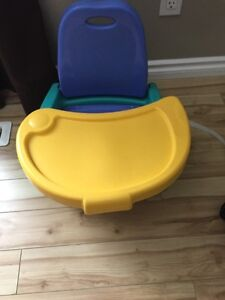 Portable high chair Strathcona County Edmonton Area image 1