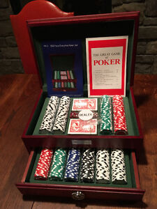 500 Piece Executive Poker Set - All pieces still wrapped!