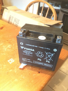 Never used - Motorcycle Battery for sale