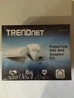 Trendnet Powerline 500 AV2 Adapter Kit NEW