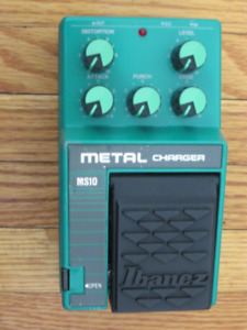 Ibanez MS10 Metal Charger vintage pedal @ Erie Music