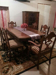 Antique Dining Set by Berkey and Gay