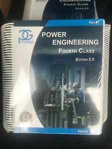 4th and 3rd Class Power Engineering Textbooks **BRAND NEW**