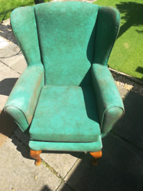 Armchair, upcycle project, free