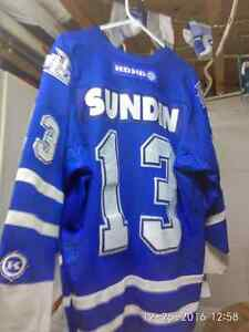 3 authentic hockey jerseys Cambridge Kitchener Area image 3