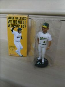 2015-Oakland A's-#2-Mike Gallego SGA Windmill Windup Toy.