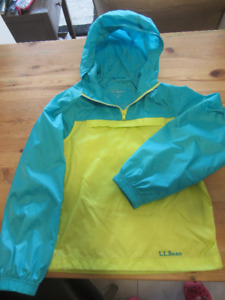 LL Bean Windbreaker, Girls size S 8