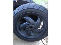 Gilera runner VX rear wheel
