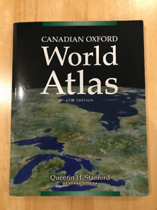 Canadian oxford world atlas 6th edition | quentin h stanford.