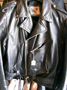 Large mens biker jacket   recycledgear.ca Kawartha Lakes Peterborough Area image 3