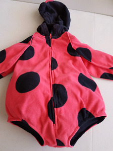 18 month old lady bug costume
