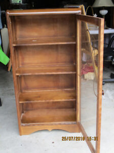small vintage china cabinet