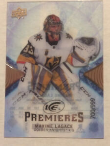 2017-18 UD Ice Premieres Rookie card Maxime Legace 700/999