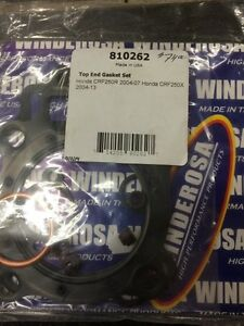 Crf 250 top end gasket kit