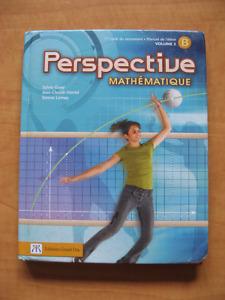 Livre de secondaire 2: Perspective mathématiques (Vol.1-2)