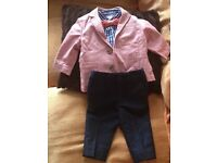 3/6 next baby suit in excellent condition