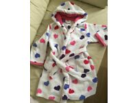 Girls dressing gown 3-4 years