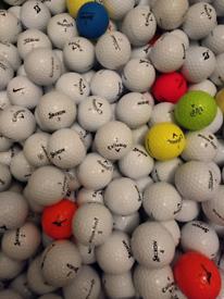 100 Mint Condition Golf Balls Top Makes