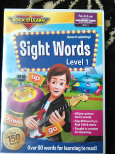 Help your child learn to read with Rock & Learn DVDs
