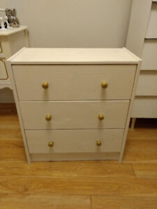RAST 3-drawer chest (painted)