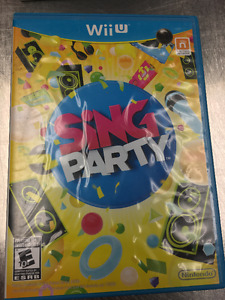 Sing Party Wii U
