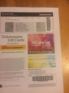 "Wiz Khalifa and Snoop Dogg ""The high road Tour"" concert ticket"