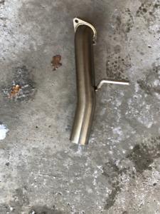 Scion FR-S single exit track pipe