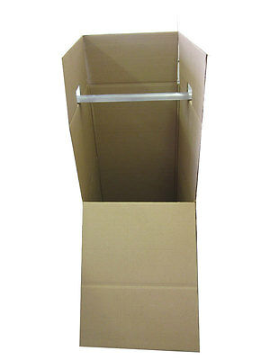 45 Wardrobe Moving Boxes Bundle Of 3 20 X 20 X 45