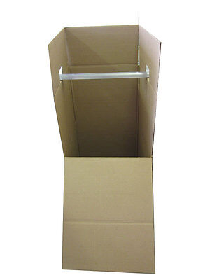 45 Wardrobe Moving Boxes Bundle Of 3 20 X 20 X 45