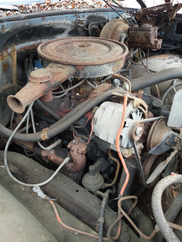 Good Running 1970 chevy 350 cubic in  FOUR BOLT MAIN block 0010
