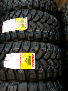 NEW LT33X12.5R22 COMFORSER MUD TERRAIN TIRES E RATED