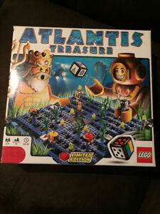 "LEGO Games ""Atlantis Treasure"" (lightly used, complete)"