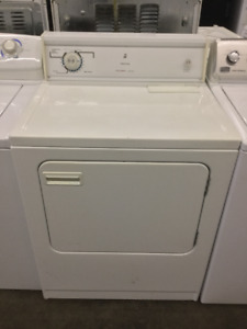 "White Kenmore 27"" Front Load Dryer"