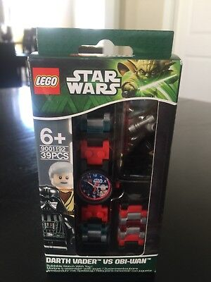 NEW LEGO Star Wars Darth Vader vs Obi Wan Watch Minifigure Set 90012222 9001192