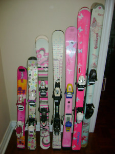 parabolic downhill skis for girls