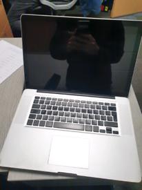 """Macbook Pro 15"""" *Faulty*"""