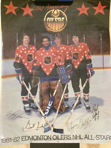 80s Oilers posters