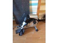 Motive recumbent bike/ rowing machine