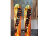 Solomon, Ski's with Bindings
