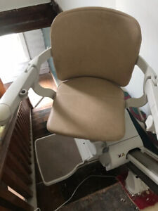 stair chair lift Stannah almost new