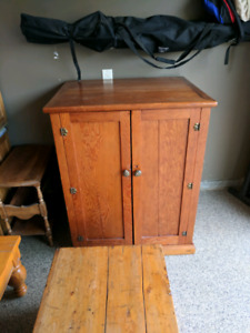 Large antique storage cupboard