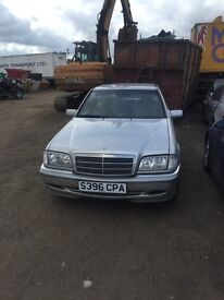 BREAKING MERCEDES C CLASS W202 C230 Kompressor