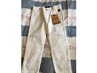 New boys age 3 trousers